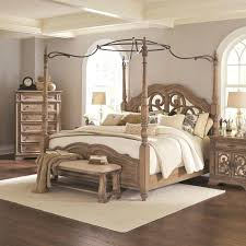 King Size Canopy Bed Set Image Of Luxury For Sleeping Room Use Full ...