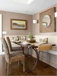 Image Ceiling Lights Neutral Dining Nook Home Design Lover 20 Small Dining Room Lighting Designs Home Design Lover