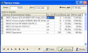 Автоматизированная информационная система учёта товародвижения в  дипломная работа по програмированию