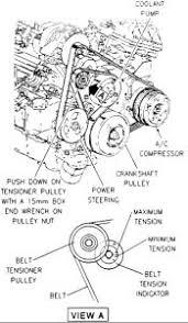 oldsmobile serpentine belt diagram  1996 oldsmobile 88 belt tensioner assembly engine mechanical