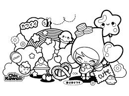 Immagini Da Disegnare Kawaii Di E Disegni Da Colorare Kawaii Cibo