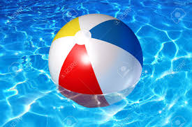 Models Swimming Pool Beach Ball Background Balls Fun Concept With An Plastic Intended Perfect Ideas