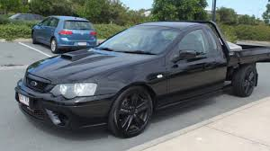 2006 Ford Falcon BF XR8 Ute Super Cab Black 6 Speed Manual Utility ...