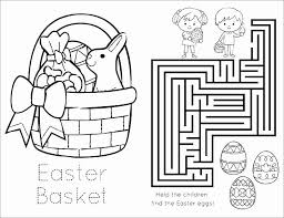 Best Of Easter Bunny And Basket Coloring Pages Nichome