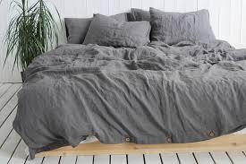 organic linen duvet cover or duvet
