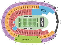 La Rams Seating Chart Los Angeles Coliseum Seating Chart Rows Seat Numbers And