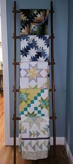 67 best Quilt Displays images on Pinterest | Quilt display, Quilt ... & Antique ladder for quilt display Adamdwight.com