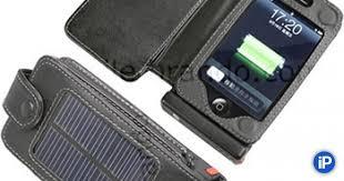 <b>Чехол</b> с <b>солнечными</b> батареями для зарядки iPhone