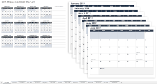 2019 Calendar Printable By Month 15 Free Monthly Calendar Templates Smartsheet