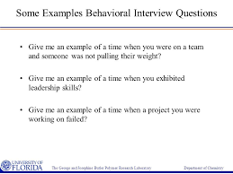 Examples Of Behavioral Interview Questions Examples Of Behavioral Questions Behavioral Based Interview