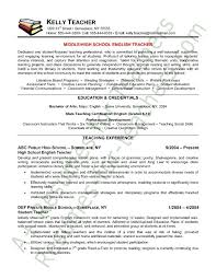... Collection of Solutions Sample Resume English Teacher With Template ...