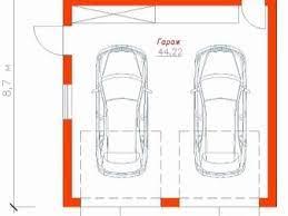 Para definir o tamanho da garagem, devemos levar em consideração o tamanho do carro, como explicamos acima. O Projeto De Uma Garagem Para 2 Carros 63 Fotos Uma Garagem Para Dois Carros Com Um Sotao Um Predio Com Um Bloco De Utilidade Uma Oficina E Um Segundo Andar Residencial