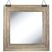 wood wall mirrors. Hobby Lobby Wall Mirrors Industrial Square Wood Mirror Large D