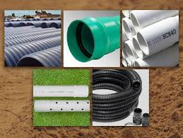 plastic drainage pipes what are the