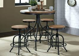 round pub table and chairs kitchen pub table and swivel chairs high top bar table and round pub table