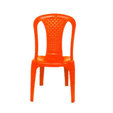 orange plastic chair. Red Armless Plastic Chair, Usage: Indoor, Outdoor Orange Chair