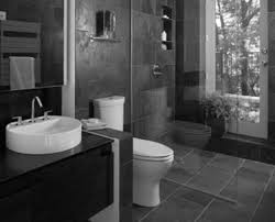 grey bathroom decorating. gorgeous grey bathrooms designs with clear glass shower divider also black wooden floating single sink vanity as decorate midcentury guest tips bathroom decorating i