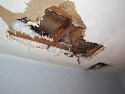 interior water damage inspection