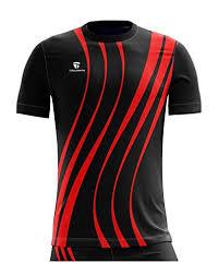 Triumph Mens Pro Dri Fit Kabaddi T Shirt Black