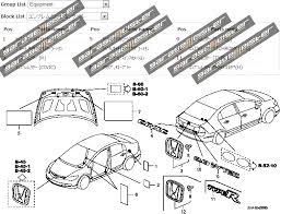honda civic parts diagram honda image wiring diagram twy trading honda civic type r fd2 genuine parts diagrams on honda civic parts diagram