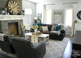 gorgeous gray living room. Grey And Teal Living Room Well Suited Ideas Gray Fine Design Brown Gorgeous U