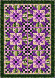 25 best Quilting and Gardening images on Pinterest | Factory ... & Lavender Blossoms Quilt Pattern BS2-360 (advanced beginner, lap and throw,  twin Adamdwight.com