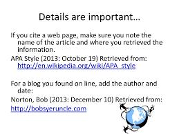 Apa Citations Ppt Download