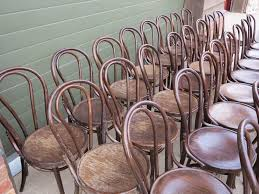 vintage reclaimed bentwood chairs