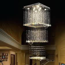 long crystal chandelier raindrop square crystal chandelier crystal raindrop chandelier at the entry large modern crystal long crystal chandelier