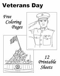 Small Picture Veterans Day Coloring Pages