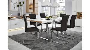 Interliving Wohnzimmer Serie 2102 Esstisch Helles Asteiche Furnier