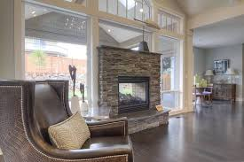 27 gorgeous double sided fireplace design ideas take a look indoor outdoor