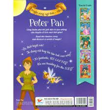 Sách-Peter Pan - Truyện Song Ngữ Anh - Việt