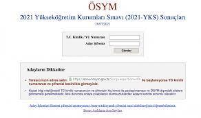 2021 YKS sonuçları açıklandı! Birinciler Adana'dan 2021 YKS AYT TYT  sonuçları nasıl öğrenilir? - Internet Haber
