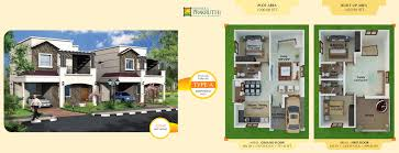 villas in sarjapur floor plan