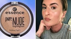 essence pure highlighter lede