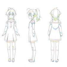 anime character design sheet. Interesting Anime In This Third Installment Of The Series Amasaki Show How To Nish Out  Line Work For A Full Character Turn Sheet He Then Proceeds Add Highlight And  On Anime Character Design Sheet