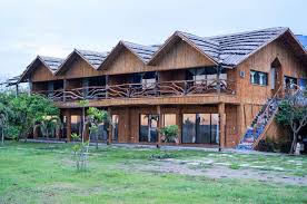 Dazzling Wooden Rest House Design 7 Small Timber Frame Cabin 1