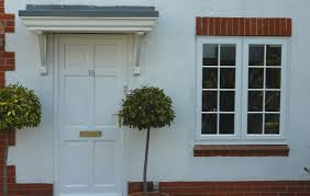 white door and windows door with out glass window same design as other ground
