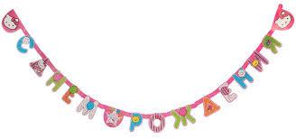 веселая затея гирлянда буквы с днем рождения улыбка 225 см
