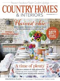 country homes and interiors. Country Homes \u0026 Interiors Magazine September 2015 Cover And