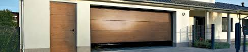 hormann sectional garage door stainless steel surround