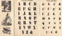 the content of a battledore was similar to that of a hornbook including the alphabet in both capital and small letters and pairs of letters as a phonics