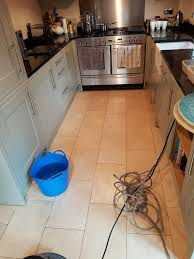 Travertine Kitchen Floors Kitchen Greater Manchester Tile Doctor