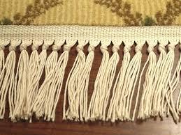 rug with fringe so rug fringe repair