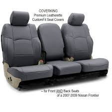 seat covers for 2007 2009 nissan frontier premium leatherette custom fit by coverking for front back seats for in bulverde tx offerup