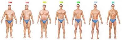 Men S Body Fat Chart Measuring Body Fat Percentage At Home And Chart Healthstatus