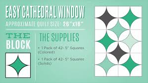New Friday Tutorial: Easy Cathedral Window & cathedral window infographic Adamdwight.com