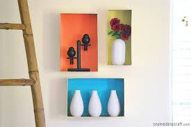 diy wall shelves diy cardboard