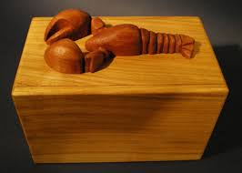 lobster puzzle box